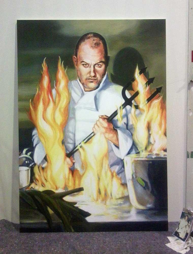 Portrait von Frank Rosin für Hells Kitchen