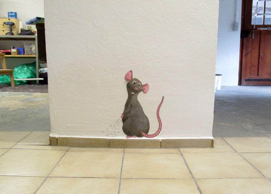 Ratte im Keller
